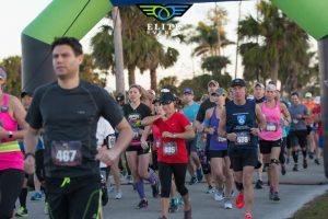 Paradise Coast Half Marathon runners